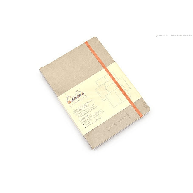 GoalBook Tapa Blanda - Color Beige