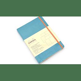 Rhodia Goalbook A5 Turquesa, Puntos