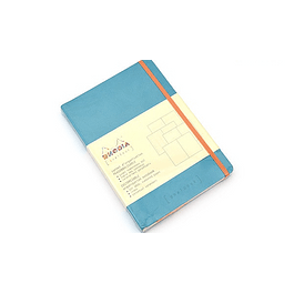 GoalBook Tapa Blanda - Color Turquesa