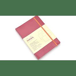 Rhodiarama GoalBook FRAMBOISE A5 5X5 120 numb sh. 90g ivory paper