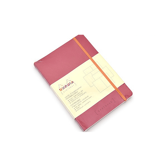 GoalBook Tapa Blanda - Color Frambuesa