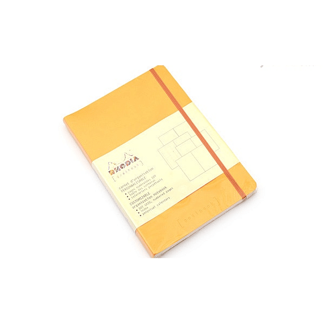 GoalBook Tapa Blanda - Color Amarillo