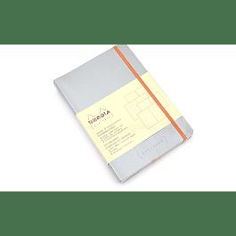 Rhodia Goalbook A5 Cuadriculado Plata