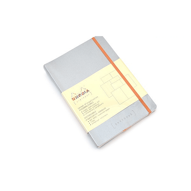 GoalBook Tapa Blanda - Color Plata