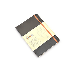 Rhodia Goalbook A5 Cuadriculado Negro