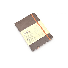 Rhodia Goalbook A5 Cuadriculado Chocolate