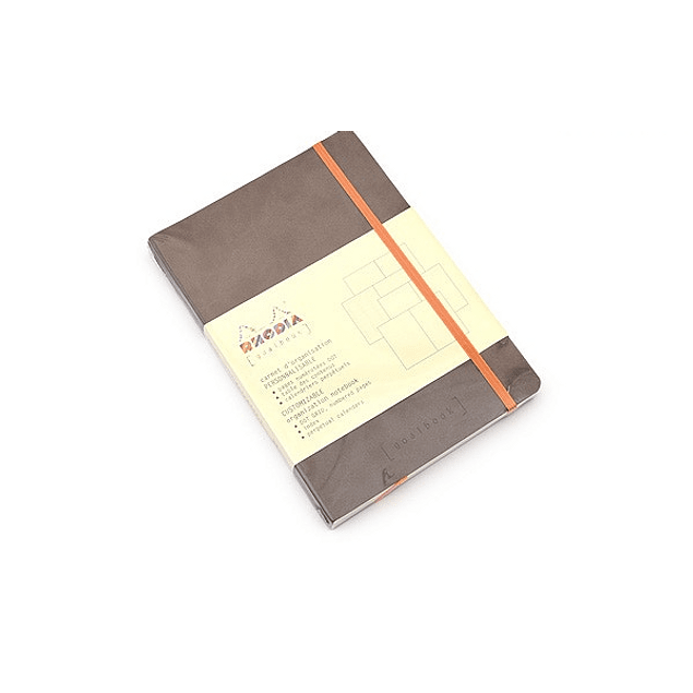 Rhodia Goalbook A5 Cuadriculado Chocolate