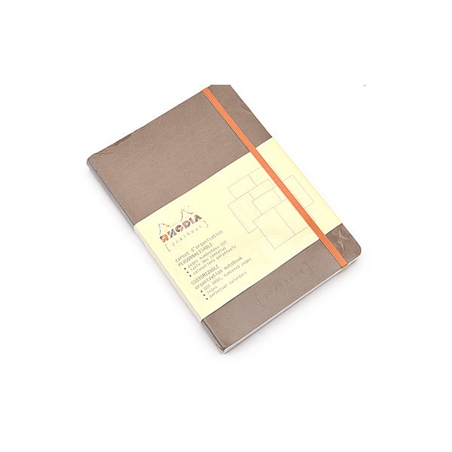 GoalBook Tapa Blanda - Color Gris Pardo