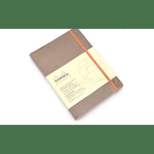 GoalBook Tapa Blanda - Color Gris Pardo