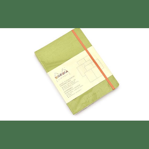 GoalBook Tapa Blanda - Color Anís