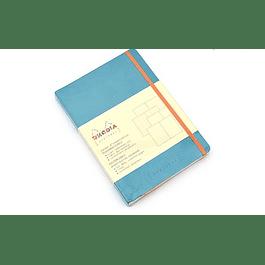 Rhodia Goalbook A5 Cuadriculado Turquesa
