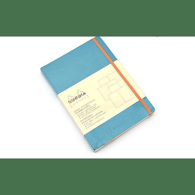 GoalBook Tapa Blanda - Color Turquesa