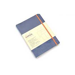 GoalBook Tapa Blanda - Color Zafiro