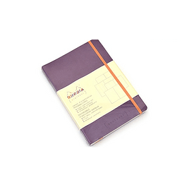 Rhodia Goalbook A5 Cuadriculado Purpura