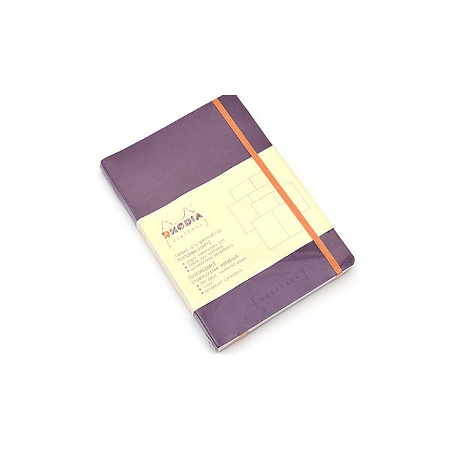 GoalBook Tapa Blanda - Color Violeta
