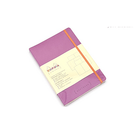 Rhodia Goalbook A5 Cuadriculado Lila