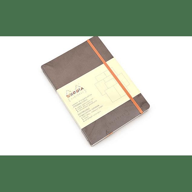 Rhodia Goalbook A5 Chocolate, puntos
