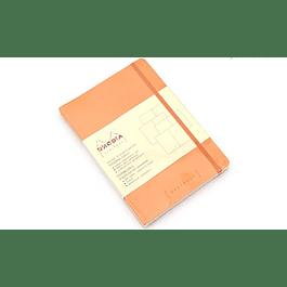 Rhodia Goalbook A5 Cuadriculado Naranjo