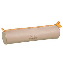 Estuche Rhodia - 21.5 x 5 cm - Color Beige