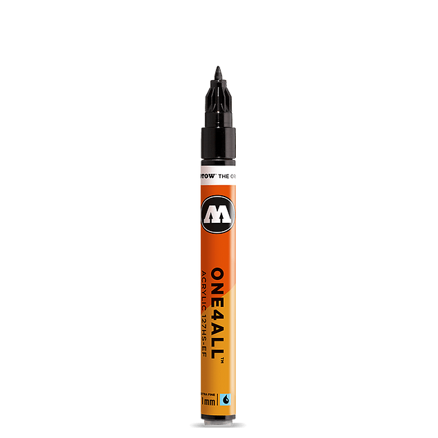 Acrylic marker One4All 127HS-EF 1mm #160 signal white 4250397600031