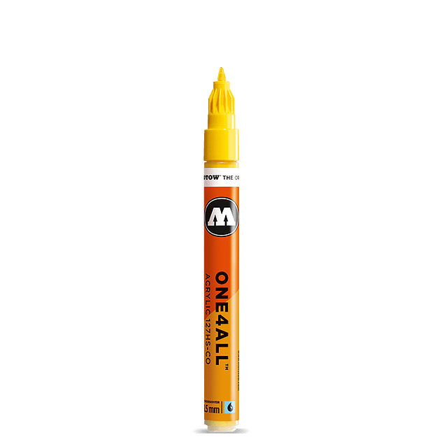 Acrylic marker One4All127HS-CO1,5mm #228 metallic gold