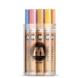 Acrylic marker One4All 227HS 4mm Box Pastel-Kit