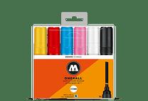 6 marcadores acrílicos One4All 327HS 4-8 mm Set I