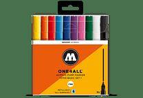 10 marcadores acrílicos One4All 127HS Colores Básicos-Set I