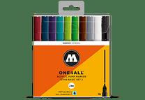 10 marcadores acrílicos One4All 127HS Colores Básicos-Set II