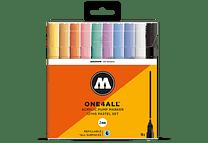 10 marcadores acrílicos One4All 127HS Colores pastel