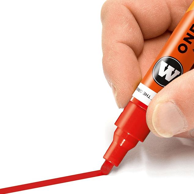 Acrylic marker One4All 227HS 4mm Wallet Basic-Set 1 6 pcs.