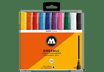 10 marcadores acrílicos One4All 227HS 4mm Colores Básicos- Set I