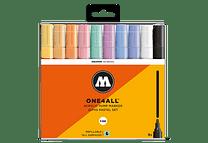 10 marcadores acrílicos One4All 227HS 4mm Colores pasteles