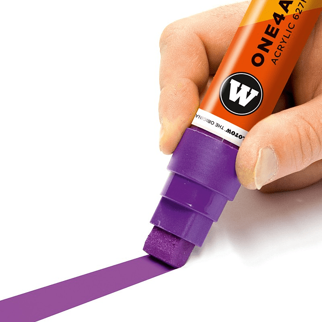 Acrylic marker One4All 627HS 15mm Wallet Basic-Set 2 6 pcs.