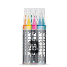 Pump Softliner Aqua 1mm Pen Main-Kit Box 12 pcs.