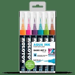 Pump Softliner Aqua 1mm Wallet Basic-Set 2 6 pcs.