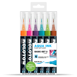 Pump Softliner Aqua 1mm Wallet Basic-Set 2 6 pcs.