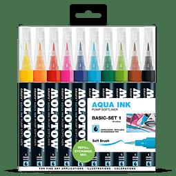 Pump Softliner Aqua 1mm Wallet Basic-Set 1 10 pcs.