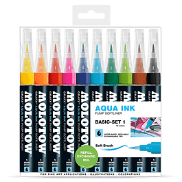 Pump Softliner Aqua 1mm Wallet Basic-Set 1 10 pcs.