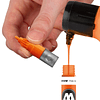 Acrylic marker One4All 127HS 2mm Wallet Basic-Set 3 10 pcs. 4250397625324