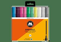 10 marcadores acrílicos One4All 127HS 4mm Colores Básicos-Set III