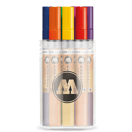Acrylic marker One4All Twin 1,5/4mm Box Main-Kit 1 12 pieces