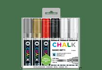 Chalk marker 4-8mm Colores Básicos-Set I 6 pzs