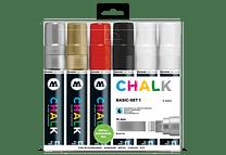 Chalk marker 15mm Colores Basicos-Set I 6 pzs