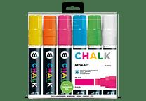 Chalk marker 15mm Colores Neón-Set II 6 pzs