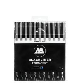 Blackliner Wallet Complete Set 11 pcs