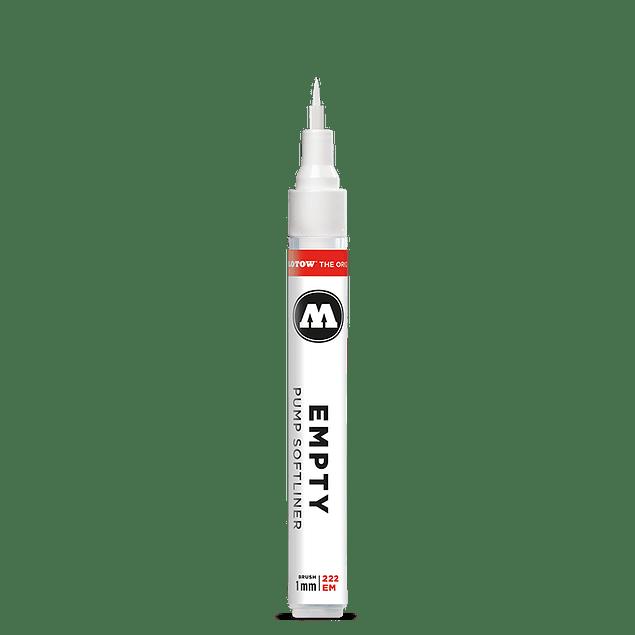 Emtpy marker Pincel Suave 222EM 1mm