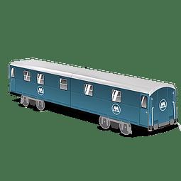Cardboard wagon Mini Subwayz Theme: Molotow Train