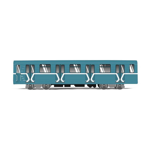 Cardboard wagon Mini Subwayz Theme: Moscow 4250397618289