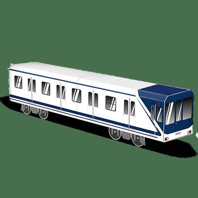 Cardboard wagon Mini Subwayz Theme: Madrid